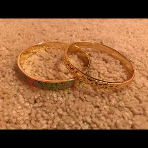 Set of Two Lilly Pulitzer Bangles